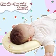 Gối cao su non chống méo đầu Baby moov