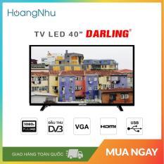 Tivi LED Digital DVB-T2 Darling 40 inch 40HD957T2 (Full HD, màu đen) – Bảo hành toàn quốc 2 năm