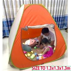 Lều Trẻ Em Tự Bung Cao Cấp( 1.3m x1.3 m x1.3m)