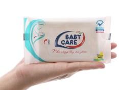 Khăn ướt Baby Care 10 miếng – Kháng khuẩn