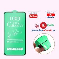 Cường lực iphone Dẻo 100D Full màn – Cường lực Dẻo 100D Chống Mẻ Vỡ Viền