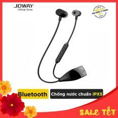 Tai nghe Bluetooth JOWAY H09 Extra Bass, hỗ trợ đàm thoại 15h, nghe nhạc 14h, chống nước, mồ hôi, chống ồn cao cấp – Hãng phân phối chính thức