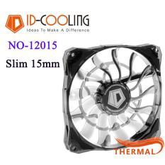 Quạt Fan Case 12cm ID-Cooling NO-12015 Slim [ThermalVN] – Sức gió lớn, giảm nhiệt tốt, mỏng 15cm, điều tốc và quay êm