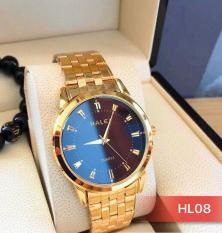 đồng hồ nam halei dây mạ vàng cao câp (có video sản phẩm)