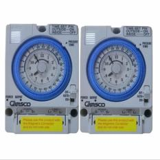 Bộ 2 Timer Camsco 24h (Rơ le thời gian 24h camsco) TB35 kèm pin