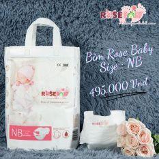 Bịch Bỉm Dán ROSE BABY Đủ Size NB60, S56, M52, L48