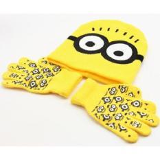 Set mũ len người nhện kèm găng tay cho bé