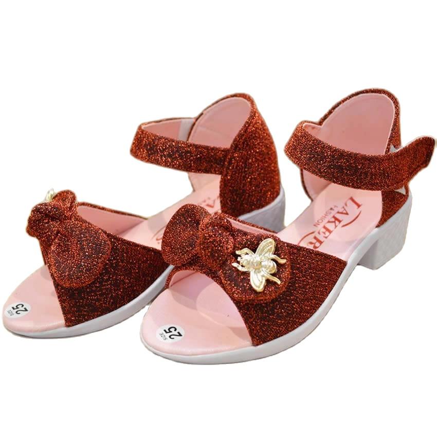 Giày trẻ em nữ nơ con ong AELLA007 – Giày bé gái cực xinh ,màu sắc tươi tắn , sắc sảo , đa dạng mẫu