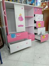 tủ nhựa đài loan trắng hồng