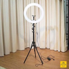 [SÁNG CỰC MẠNH] Đèn Led LiveStream Loại Lớn, Chụp Hình Sản Phẩm, Quay ViDeo Tik Tok, Đèn Led Hỗ Trợ LiveStream – Trang Điểm – Size 26cm, Đèn LED Thần Thánh make up – Live Stream Siêu Sáng, Siêu Bền