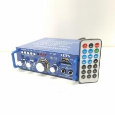 Amply LDZS AV-263 12V/220V KARAOKE 300W x 300W (XANH)