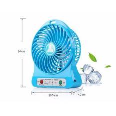 [ XẢ KHO ] TẶNG PIN SẠC ĐƯỢC – Quạt mini để bàn – Quạt điều hòa mini – Quạt Mini Fan