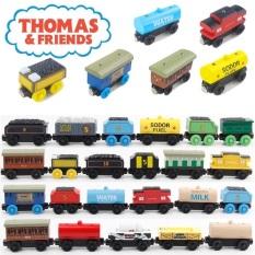 Bộ sưu tập các toa hàng xe lửa Thomas gỗ, xe chơi được với các loại đường ray xe lửa gỗ BRIO, HAPE, GINIMAG, EDWONE.