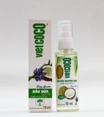 Dầu dừa nguyên chất organic VIETCOCO 70ML – hương lavender