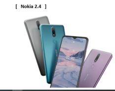 """[Nhập ELJAN11giảm 10%, tối đa 200k, đơn từ 99k]Nokia 2.4 màn hình 6.5"""" HD+ tỉ lệ 20:9 ấn tượng hệ điều hành Android 10 – sẵn sàng cho Android 11 dung lượng pin 4500mAh RAM/ROM: 2/32GB"""