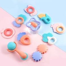 Set đồ chơi gặm nướu cao cấp 10 món giúp phát triển tư duy và các giác quan cho bé sơ sinh