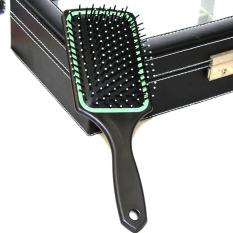 Lược chải đầu cho spa bản to chữ nhật gỡ rối tóc dày xoăn cho nam và nữ | Lược spa có đệm khí và dạng gai matxa massage đầu