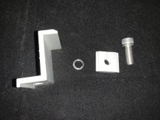 Bát kẹp biên bìa tấm pin mặt trời 40mm bao gồm ốc phụ kiện điện mặt trời