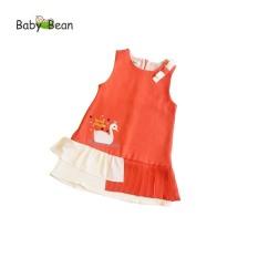 Đầm Thiên Nga Xếp Ly điệu đà bé gái BabyBean (8kg – 20kg)