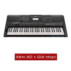 Đàn Organ Yamaha PSR- E463 (Kèm AD + Giá nhạc) – HappyLive Shop