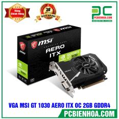 VGA MSI GT 1030 AERO ITX OC (2GB/DDR5/64BIT/DVI+HDMI)