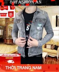 áo khoác jean nam 89fashion chất bò năng động cao cấp thiết kế đơn giản trẻ trung cá tính thời trang 89fashion an006