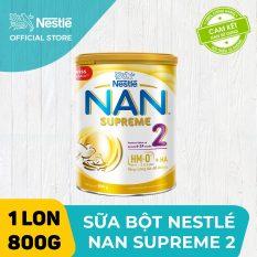 [FREESHIP 30K HCM&HN ĐƠN 399K] Sản phẩm dinh dưỡng công thức Nestle NAN SUPREME 2 800g cho trẻ từ 6-24 tháng giúp tăng cường sức đề kháng dễ tiêu hoá dễ hấp thu và phòng ngừa nguy cơ dị ứng (chàm sữa)