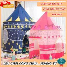 Lều công chúa hoàng tử đồ chơi chất liệu cao cấp thiết kế đẹp mắt, đáng yêu cho bé, lều cho bé, lều công chúa Others, lều chơi cho bé giá rẻ – Huy Tuấn
