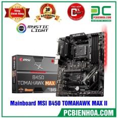 Mainboard MSI B450 TOMAHAWK MAX II ( AM4 / ATX / 4xDDR4 )