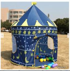 (Có video+ ảnh thật) Lều lâu đài công chúa hoàng tử cho bé- lều bóng cho bé