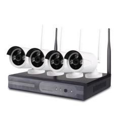 Bộ Kit Camera IP Wifi Không Dây 4 Kênh HD NVR KIT 1.0MP