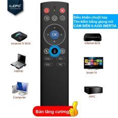 Bàn Phím Điều Khiển Remote TV Box Fly Air, Có Mic Điều Khiển Giọng Nói Và Chuột Bay Không Dây, Wireless Mouse Cảm Biến Thông Minh .TV Box Remote X11 AIR MOUSE