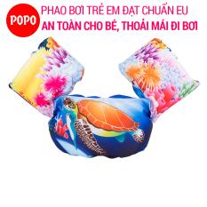 Phao bơi trẻ em (từ 2 – 8 tuổi) – OCEAN Đỏ, Phao đeo tay chất liệu cao cấp tiêu chuẩn EU – POPO Collection