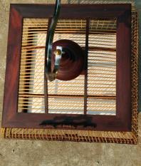 lồng singapore gỗ cẩm nan khít