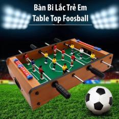 Mua đồ chơi bàn bi lắc bóng đá bằng gỗ cho bé giá rẻ-Đồ Chơi Bàn Bi Lắc Bóng Đá Table Top Foosball Cho Trẻ Giúp Bé Phát Triển Tư Duy , Trí Tuệ, Vận Động-giảm 50%hôm nay.