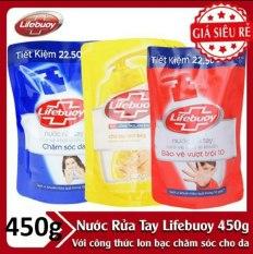 Nước rửa tay Lifebuoy 450g hàng đẹp chính hãng