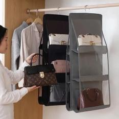 Giỏ treo túi xách chống bụi 6 ngăn