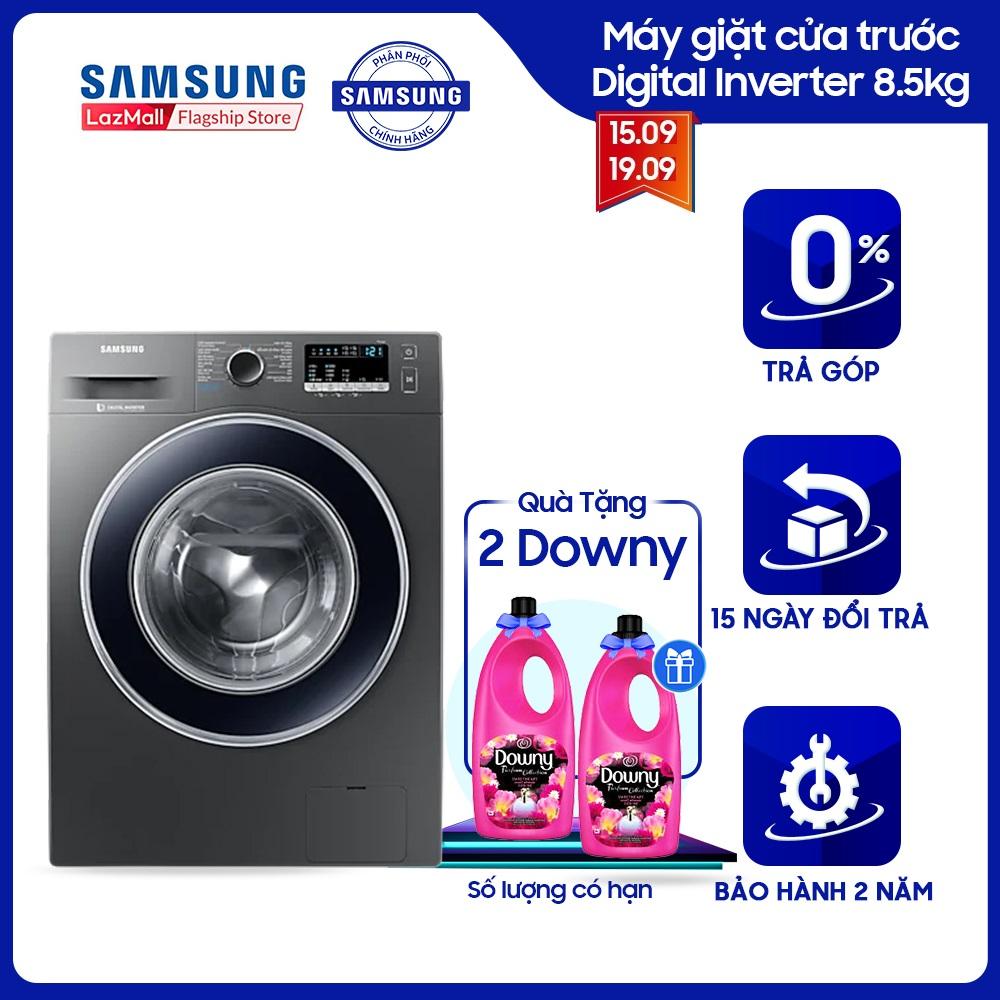 [Trả góp 0%]Máy giặt cửa trước Samsung Digital Inverter 8.5kg - WW85J42G0BX - WM