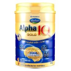 Sữa Bột Vinamilk Dielac Alpha Gold IQ Số 1 – Hộp Thiếc 900g