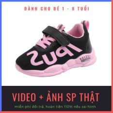 [SALE 50%] Giày trẻ em IPUS mùa hồng siêu nhẹ, siêu thoáng khí phong cách HQ dành cho bé gái 1-8 tuổi