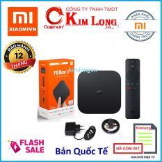 Android Tivi Box Xiaomi Mibox S 4K Ultra HD Quốc Tế Tiếng Việt – Hãng phân phối chính thức