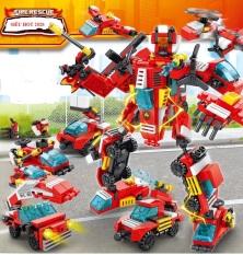 Lego robot biến hình, Đồ chơi lắp ráp, Lego Giá Rẻ, Lego cảnh sát biến hình chất lượng cao – minhhanh588