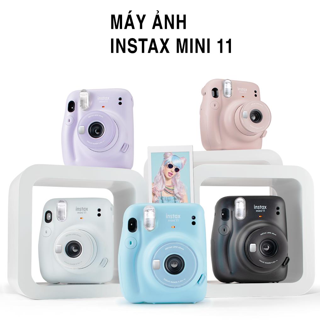 Máy Chụp Ảnh Lấy Liền Fujifilm Instax Mini 11-Hàng Chính Hãng