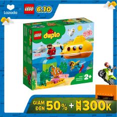 LEGO DUPLO 10910 Tàu Ngầm Khám Phá Đại Dương ( 24 Chi tiết)
