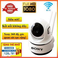 [ Có Combo Thẻ Nhớ 128GB] Camera wifi FULL HD-2.0MP trong nhà xoay 360 độ hình ảnh sắc nét nhất sony – Giám sát trẻ nhỏ, thú cưng, ông bà nội, xe cộ – Đàm thoại ghi âm 2 chiều – báo động chống trộm tránh mát tài sản lớn