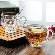 Bộ 6 Ly Thủy Tinh Bầu Lùn Uống Trà, Bộ ly uống trà cao cấp- 6 Cốc Thuỷ Tinh Uống Trà Cao Cấp- Bộ 6 ly Lùn Uống Trà, ly thuỷ tinh trong suốt cao cấp