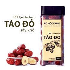 Táo đỏ Tân Cương loại I quả to sấy khô vị thanh ngọt – Hộp 200gr tiện dụng