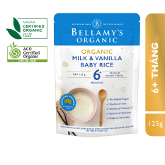 Bột Dinh Dưỡng Ăn Dặm: Gạo, Sữa và Vanilla