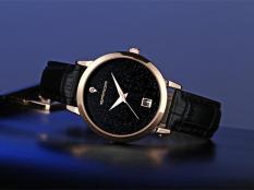Đồng hồ nữ Sanda B086 dây da cao cấp ,lịch ngày Analog, chống nước sinh hoạt,mặt kim tuyến nổi bật sang trọng (Màu đen)