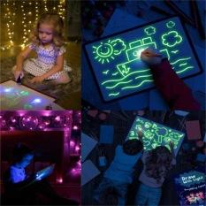 [GIẢM 75% BẢNG LỖI BỀ MẶT VẪN DÙNG TỐT] Bảng vẽ phát sáng Light-Fun, đồ chơi thông minh, đồ chơi trẻ em thông minh +TẶNG KÈM 3 bút dạ màu và 1 bút phát sáng trị giá 30K